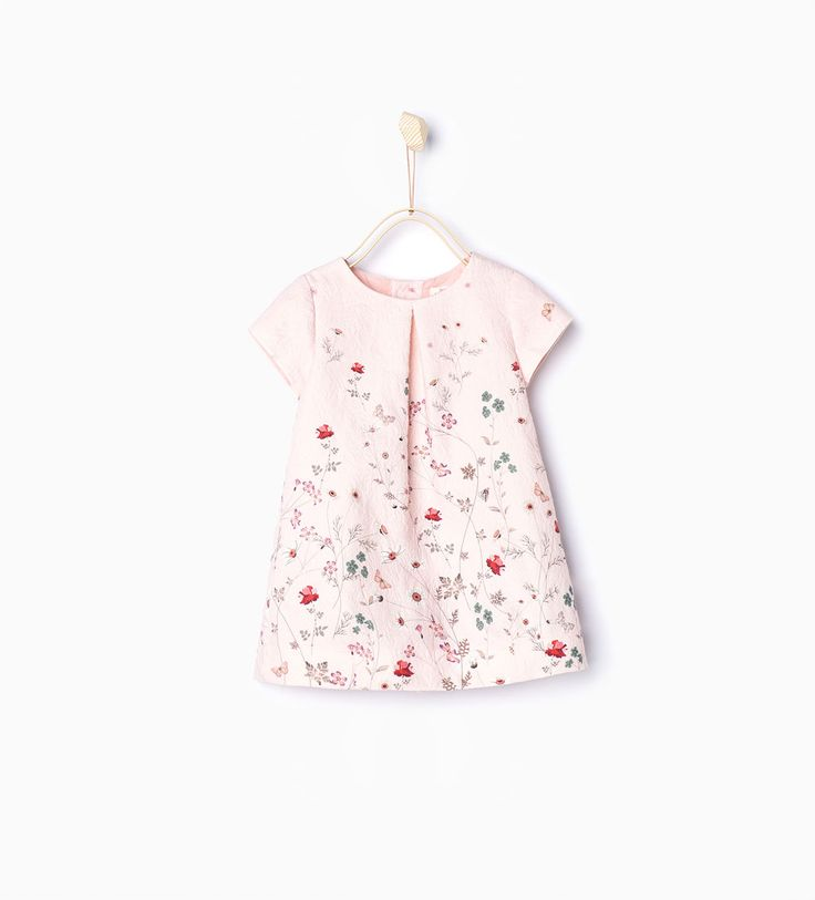 Branches jacquard dress-Dresses and Jumpsuits-Baby girl | 3 months - 3 years-KIDS | ZARA United States