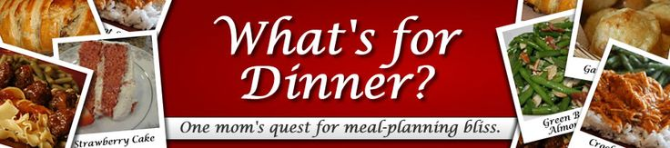 Dinner Meal Planning blog with tons of recipes