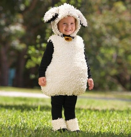 Baby Halloween Costumes - 40 Kids Halloween Costumes lamb Too hot for Houston, but so adorable!