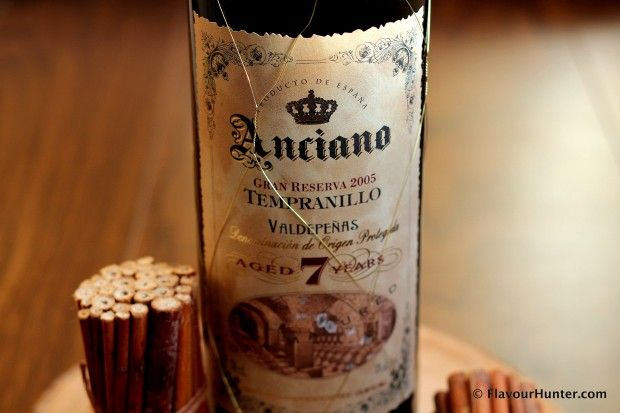 The Anciano Gran Reserva is aged in French Oak for 7 years and is a suitable everyday #redwine!