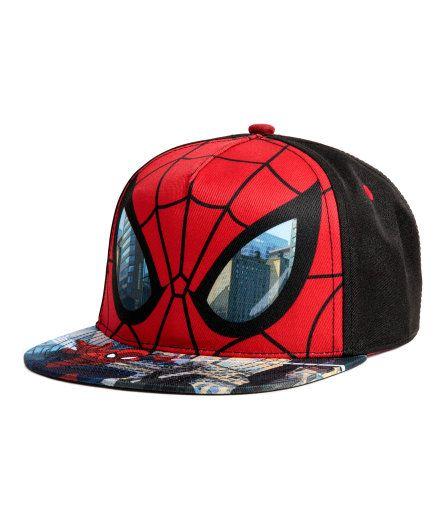 Keps med tryck | Röd/Spindelmannen | Barn | H&M SE