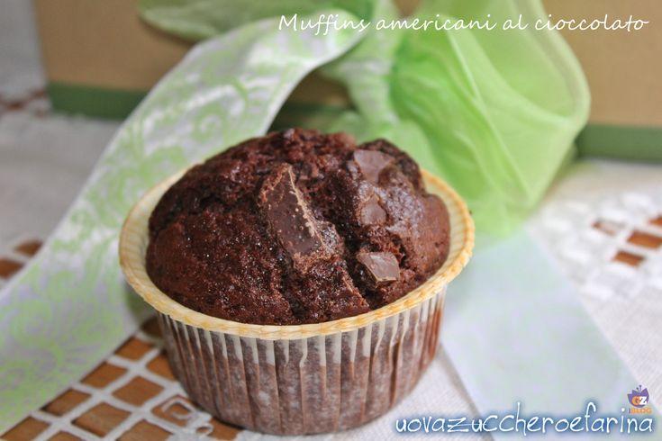Muffins americani al cioccolato