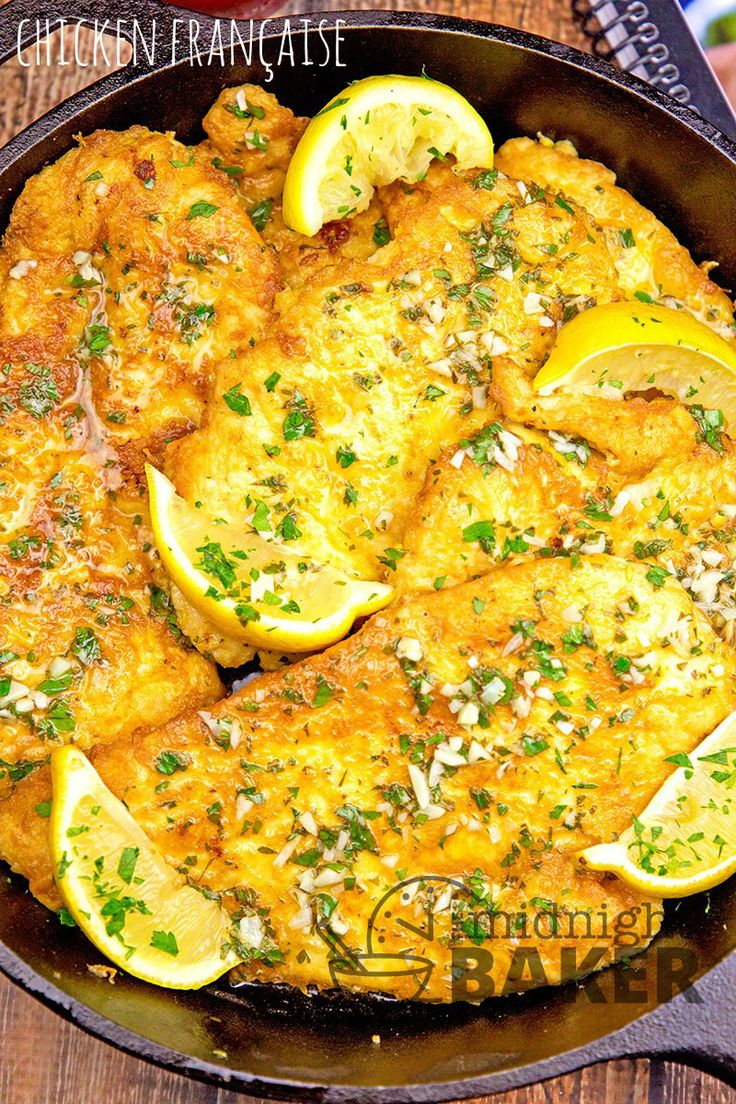 "This delicious chicken francaise recipe comes from one of the best Italian cooks I've ever met and is from her new cookbook, ""A Taste of Love"""