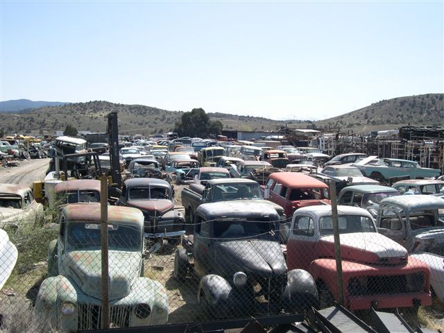 Twas old Car Wrecking Yard now rebirthing yard