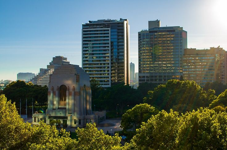 Photography is about being in the right place at the right time to capture the shot. In this case its watching the sun rise over Hyde Park and enjoying the site of the light, reflecting off the buildings and down into the park.