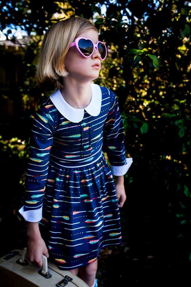 The Violet Dress PDF Pattern