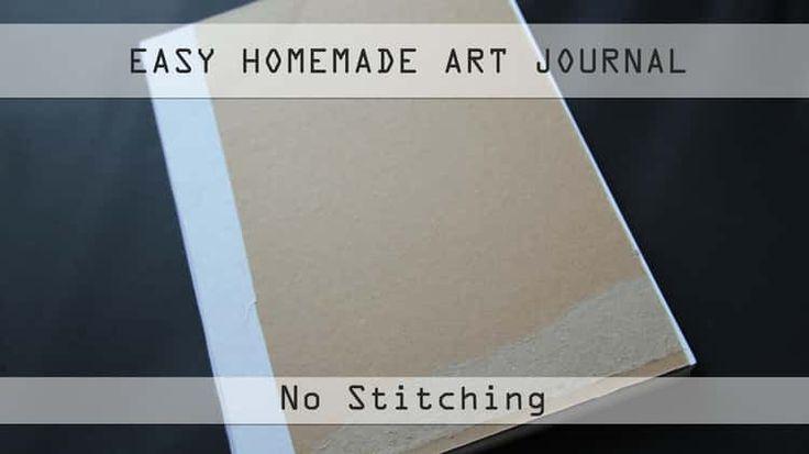 Easy Homemade Art Journal