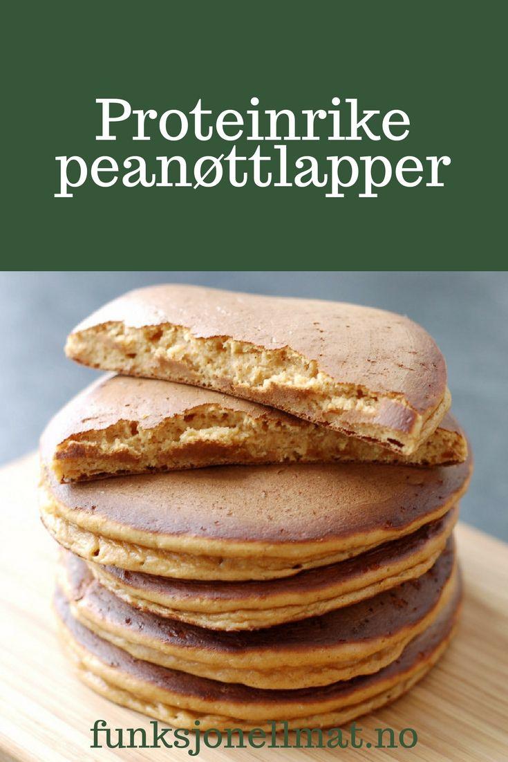 Proteinrike peanøttlapper - Funksjonell Mat | Oppskrift lapper | Sunne lapper | Dessert uten sukker | Sukkerfri snacks | Inspirasjon til mat | Sunn snacks
