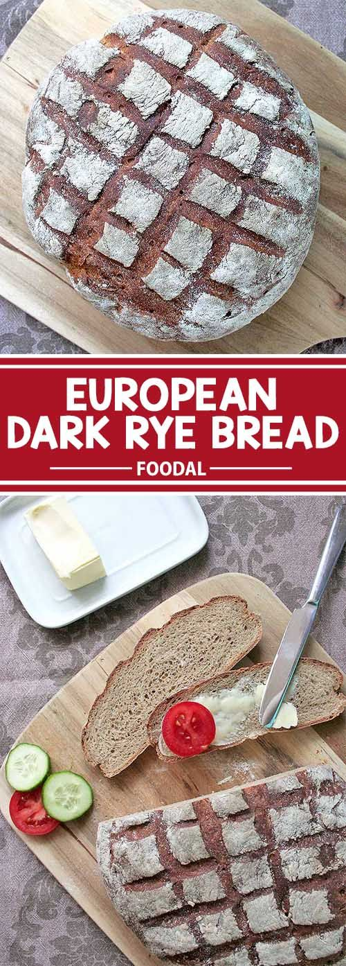 The aroma of rye bread fresh from the oven is simply marvelous. And although it's not too complicated, my family and friends are amazed that I made it on my own. And you can easily make it from scratch, as well! My recipe for dark rye bread creates a beautiful loaf with a great crust and hearty flavor. Embrace this European tradition in your own kitchen, and get the recipe now on Foodal.