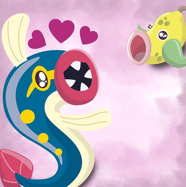 Projeto Pokemonadex - Ilustrações on Behance