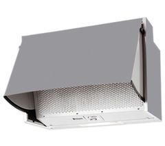 HOTPOINT HTN41 Integrated Cooker Hood - Grey