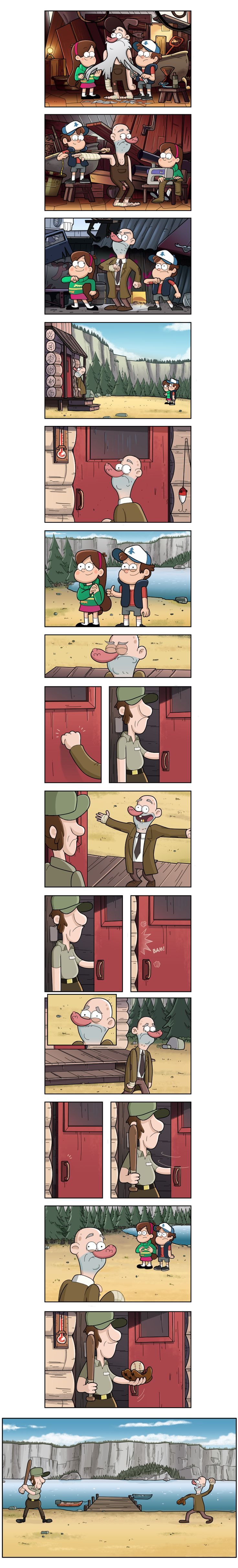 30 years by markmak on deviantART. Ah Meu Deus!!!!!!! Eu achei tão fofo a atitude de Mabel e Dipper e como o final termina...