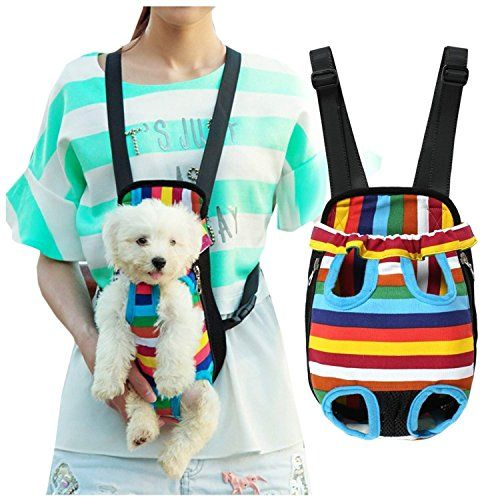 Hmcity Dog Carriers Portable Convenient Lightweight Outdoor Travel Pet Carrier Free Your Hands Safe To Carry