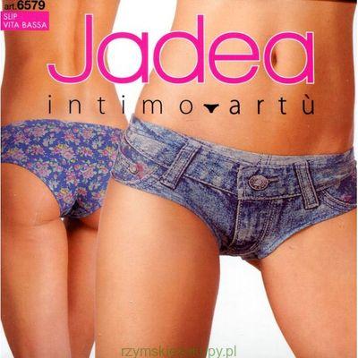FIGI DAMSKIE JADEA z nadrukiem Jeans