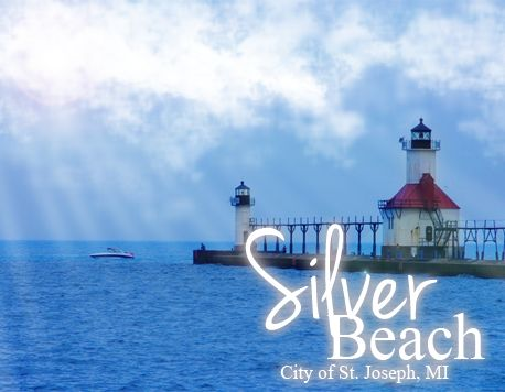 Silver Beach in Michigan.  Family friendly, nearby beach vacation.