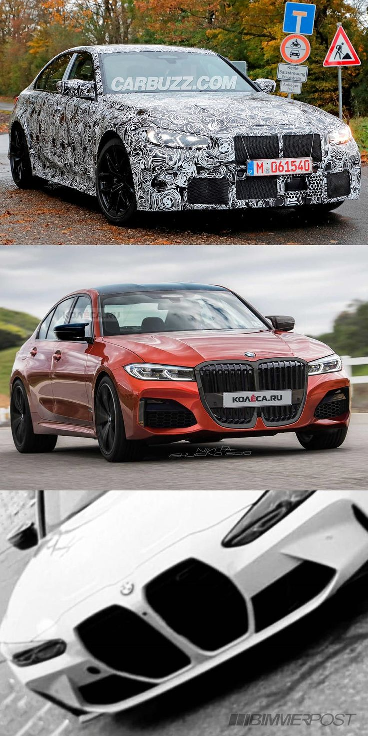 This Is The Front End Of The 2021 BMW M3. That's a whole