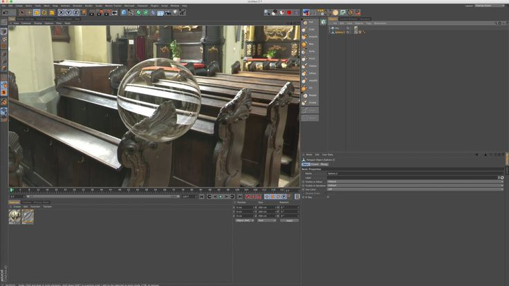 """C4D Quick Tip: Creating a """"Thin"""" Glass Material With Proper Refraction on Vimeo"""
