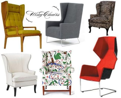 definitely going to have one or possibly two wing matching wing back chairs