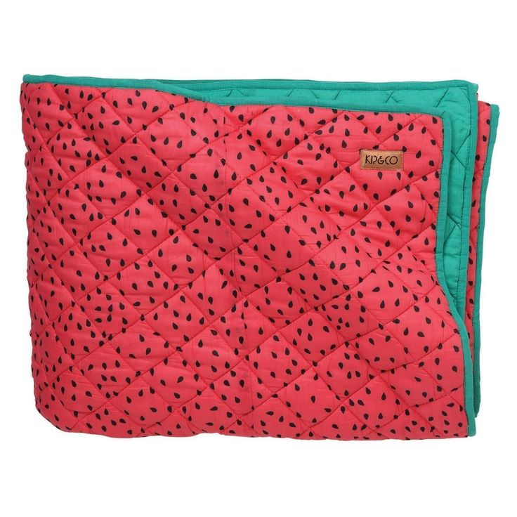 SS17 KIP&CO WATERMELON QUILTED BEDSPREAD COMFORTER