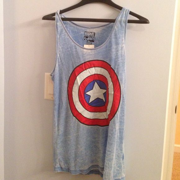 Tops - Captain America tank top.
