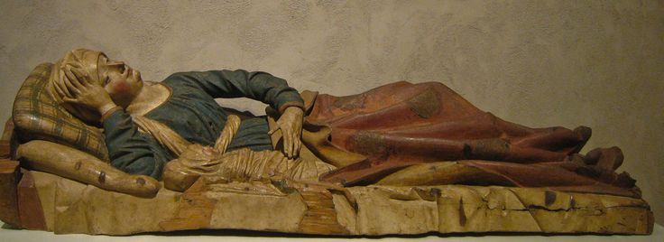 Nativity of the Virgin, Germany, c. 1480 | by Sharon Mollerus