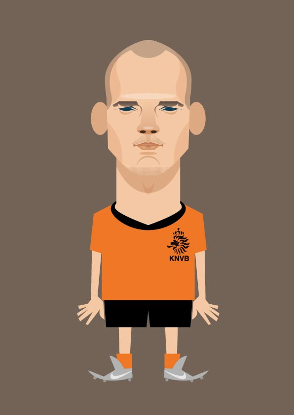Stanley Chow Soccer Prints — Wesley Repinned by Aline
