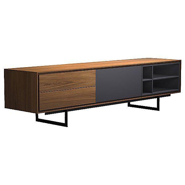 Modloft Baxter Media Cabinet Color White Md220 Wht In 2020 Tv Furniture Media Cabinet Tv Unit Furniture
