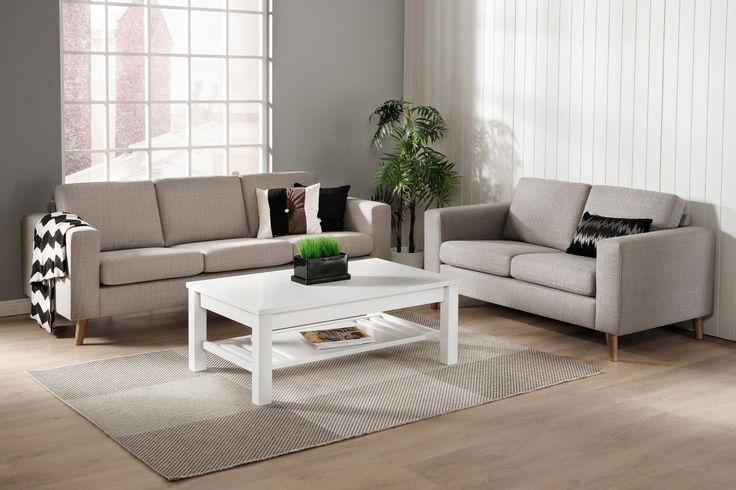 LINUS 2-istuttava sohva