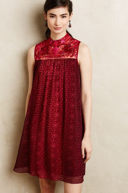 Amara Swing Dress #Anthropologie