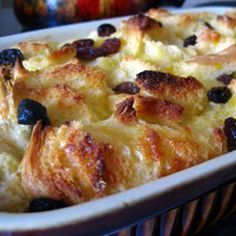 Love this Bread Pudding! Could have this for breakfast too. I leave the raisins out due to picky eaters.