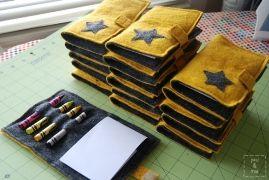 Tutorial: Felt crayon & notepad booklet party favors · Sewing | CraftGossip.com