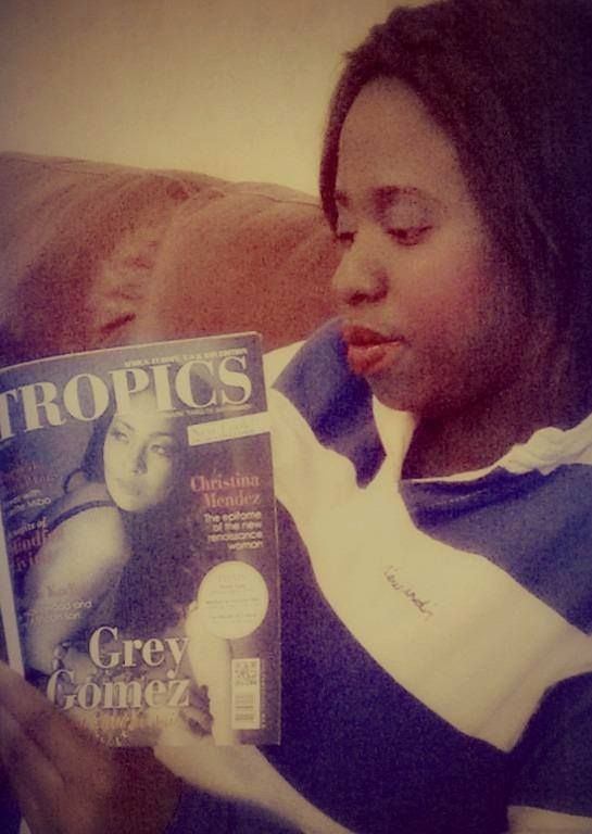 #Selfie • Fashion Stylist Badiam's (London, UK) is a proud reader of #TropicsMagazine.