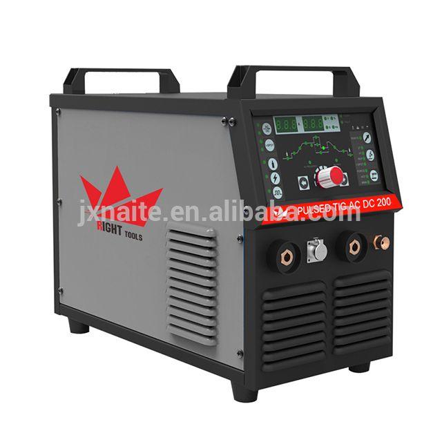 Micro digital control tig ac dc welder 200amp argon welding machine price