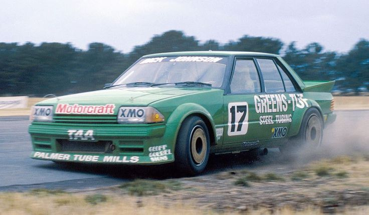 1984 Ford XE Falcon V-8 driven by Dick Johnson Racing Team .   v@e.