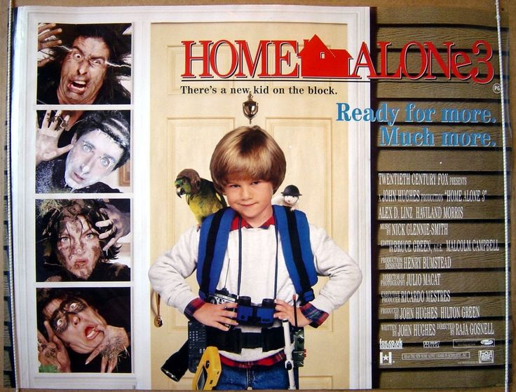 Poster Image Starring:Alex D. Linz,Haviland Morris Directed by:Raja Gosnell Distributed by:20th Century Fox. Release Date: December 12 1997. Home Alone 3 Trailer was last modified: February 13th, 2016 by Kaarle Aaron