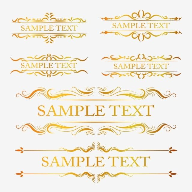Vintage Frame Collection Invitation Symbol Background Png And Vector With Transparent Background For Free Download In 2020 Vintage Frames Frame Collection Logo Design Free Templates