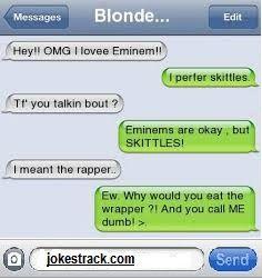 Jokes Track: Hey!! OMG I Love Eminem!!