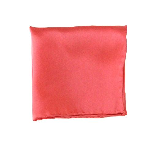 Coral    Pocket Square - Coral (PSq) - Browse our Bow Ties, Cufflinks, Pocket Squares and Tie Bars