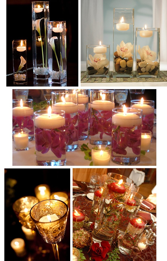 I want the tall candle w flowers as a centerpiece for my wedding one day!