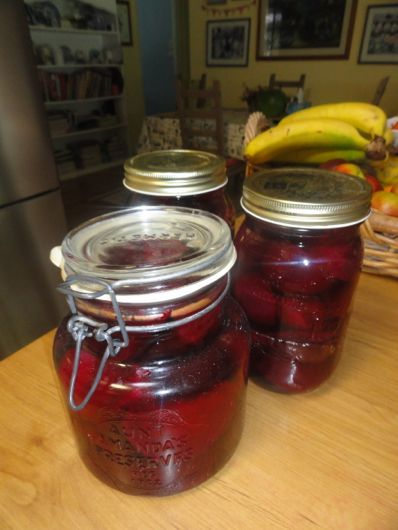 HOW TO PICKLE BEETROOT You will need a large stockpot or saucepan, some wide-mouthed jars with metal lids of the size to fit what you're goi...