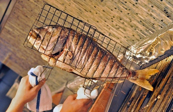 Snapper is from the waters off the Greek island of Limnos.