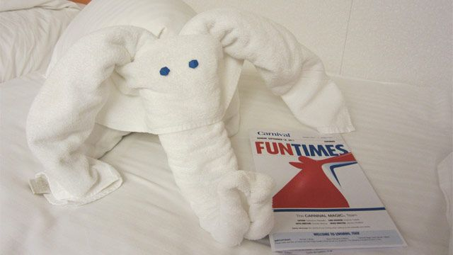 how to make carnival towel animals