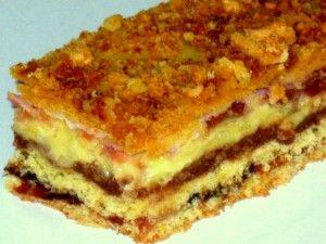 Очень вкусный пирог-начинка ореховая, маковая и повидло абрикосовое