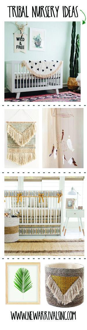 Tribal Nursery Ideas on our Blog!