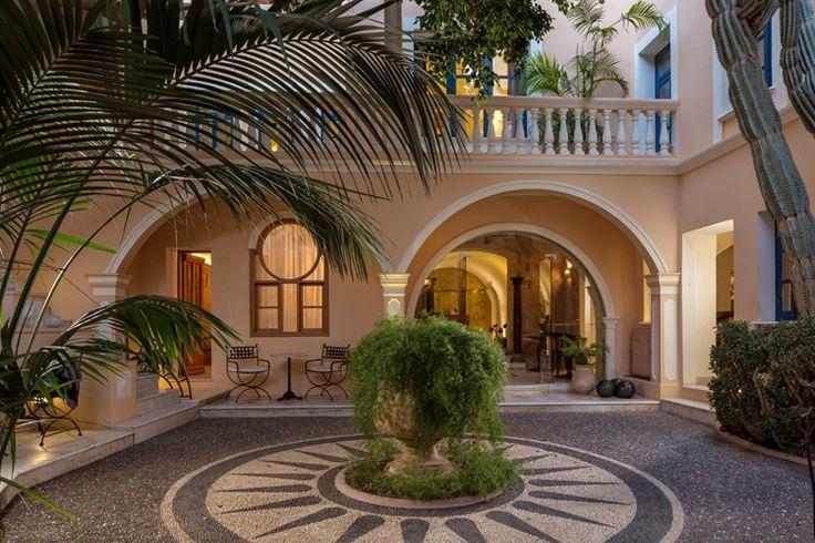 Casa Delfino Suites, old Venetian harbour, Chania Crete Greece