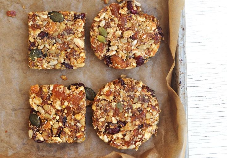 Nutty Fruit Bars  #AnjasFood4Thought
