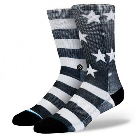 While Stance's Cano showcases stars and stripes, it does so on its own terms. The Cano's plush combed cotton and deep heel pocket cradle feet in luxury while mesh vents keep things cool $14