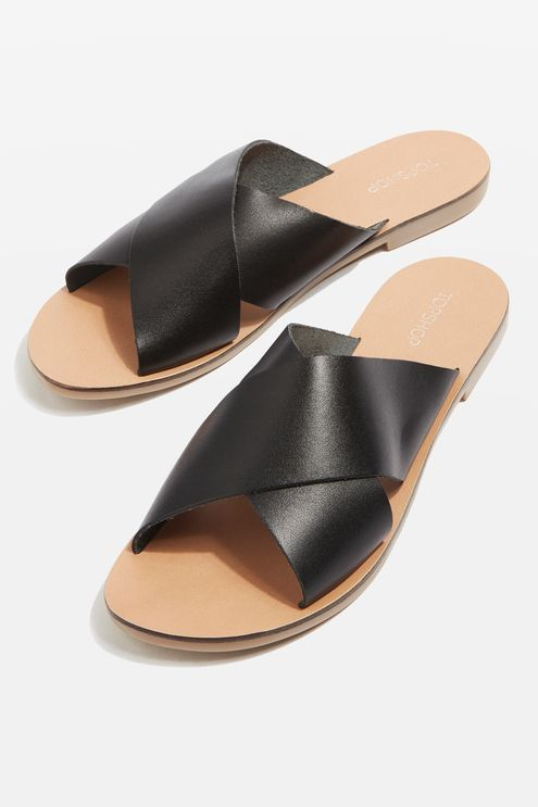 HOLIDAY Cross Strap Sandals
