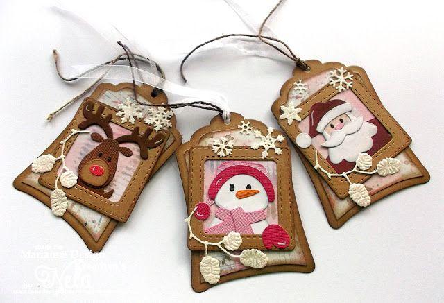 Hallo ihr Lieben!   Die süße Schneemann Stanze   Collectables Elines Schneemänner von Marianne Design ( COL1413)   hatte ich euch schon let...