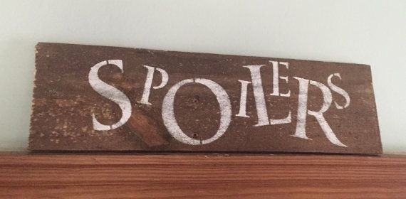 #DoctorWho #Spoilers #RiverSong Hush Now, Spoilers. ~ Riversong (Alex Kingston) Doctor Who themed Spoilers decorative wood sign approximately 14 L x 4.5 H